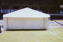 6m x 3m freestanding marquee